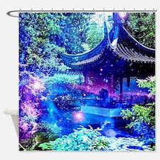 Serenity Garden Shower Curtain