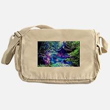 Serenity Garden Messenger Bag