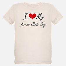 I love my Korea Jindo Dog T-Shirt