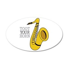 Toot Your Horn Wall Decal