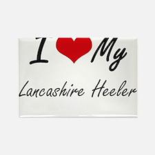 I love my Lancashire Heeler Magnets