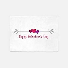 Valentines Day 5'x7'Area Rug
