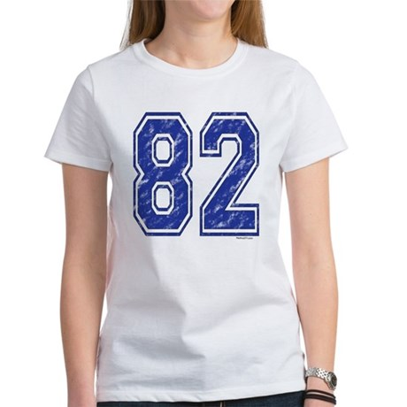82 Jersey Year Women's T-Shirt