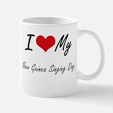 I love my New Guinea Singing Dog Mugs