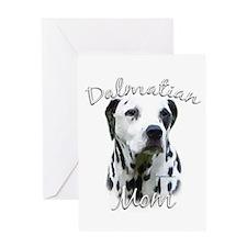 Dalmatian Mom2 Greeting Card