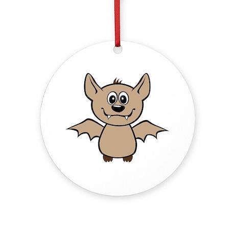 Little Bat Ornament (Round)
