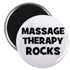 Massage Therapy Rocks Magnet