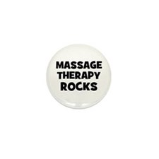 Massage Therapy Rocks Mini Button (10 pack)