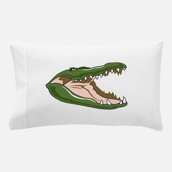 Gator Head Pillow Case