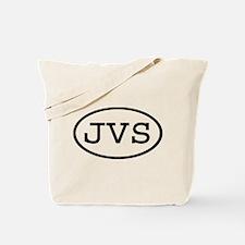 JVS Oval Tote Bag