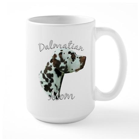Dalmatian Mom2 Large Mug