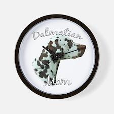 Dalmatian Mom2 Wall Clock