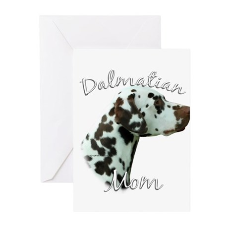 Dalmatian Mom2 Greeting Cards (Pk of 20)