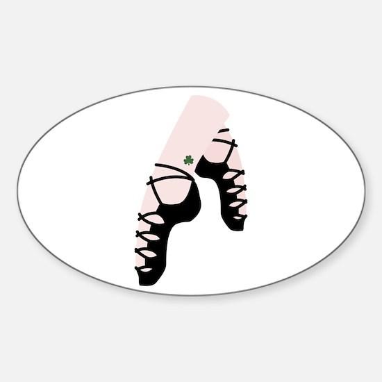 Irish Dance Shoes Decal