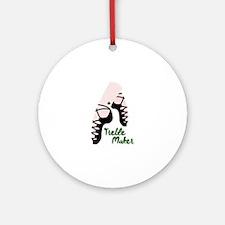 Treble Maker Round Ornament