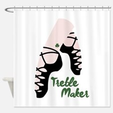 Treble Maker Shower Curtain