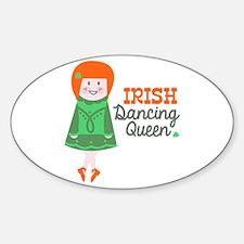 Irish Dancing Queen Decal