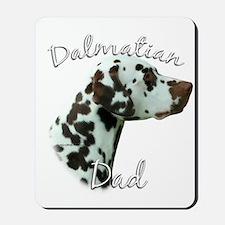 Dalmatian Dad2 Mousepad