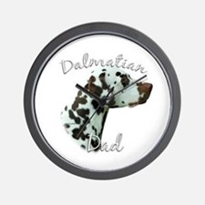 Dalmatian Dad2 Wall Clock