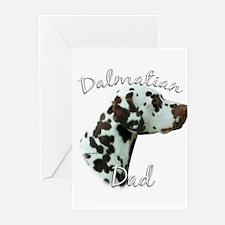 Dalmatian Dad2 Greeting Cards (Pk of 10)