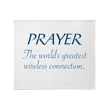 PRAYER - THE WORLD'S GREATEST WIRELE Throw Blanket