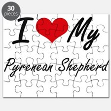 I love my Pyrenean Shepherd Puzzle