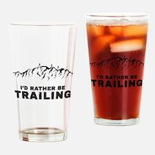 Trail Runner Drinking Glass