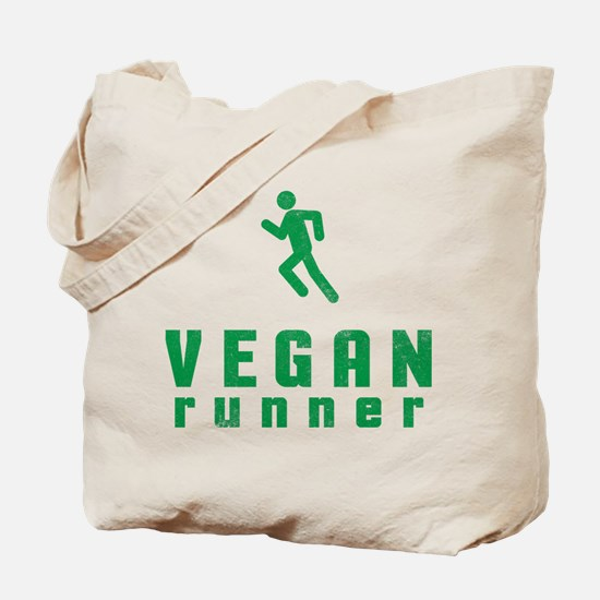 Vegan Runner Tote Bag