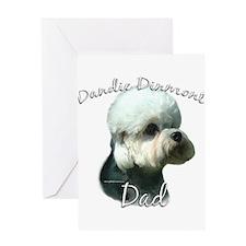 Dandie Dad2 Greeting Card