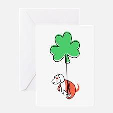 Irish Puppy Greeting Cards