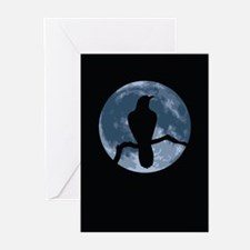 Crow Moon Greeting Cards (Pk of 10)