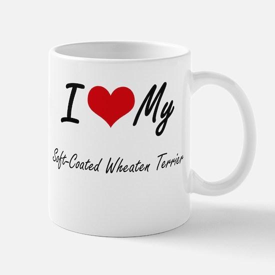 I love my Soft-Coated Wheaten Terrier Mugs