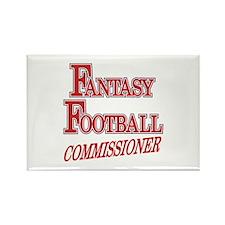 Fantasy Football Commissioner Rectangle Magnet