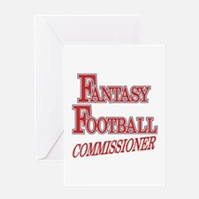 Fantasy Football Commissioner Greeting Card