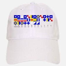 England Expects Signal Black text Baseball Baseball Baseball Cap