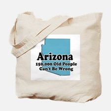 Arizona Retirement Tote Bag