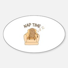Nap Time Decal