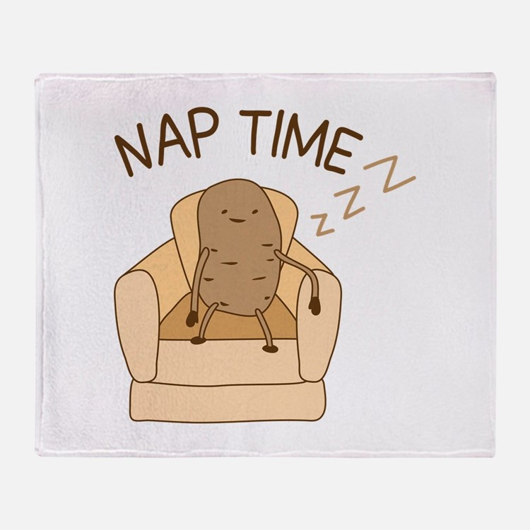 Nap Time Throw Blanket
