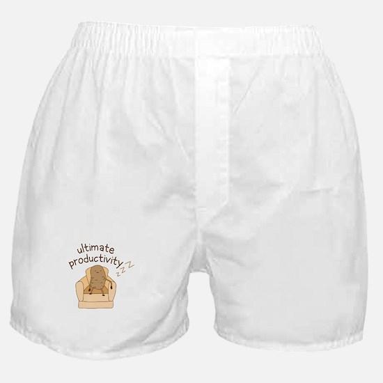 Productivity Potato Boxer Shorts
