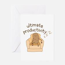 Productivity Potato Greeting Cards