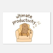 Productivity Potato Postcards (Package of 8)