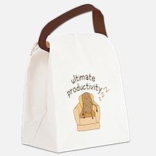 Productivity Potato Canvas Lunch Bag
