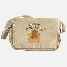 Productivity Potato Messenger Bag