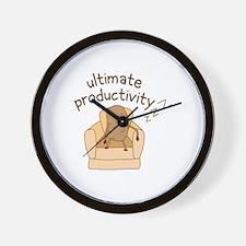 Productivity Potato Wall Clock