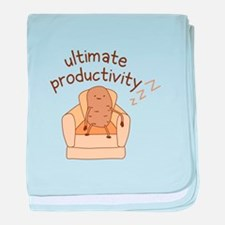 Productivity Potato baby blanket