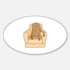 Couch Potato Decal