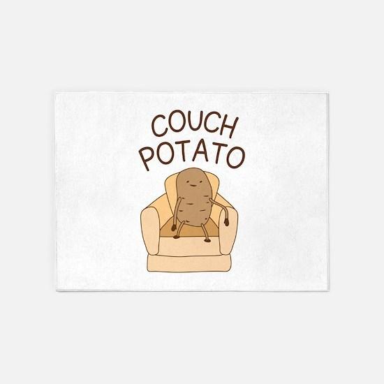 Couch Potato 5'x7'Area Rug