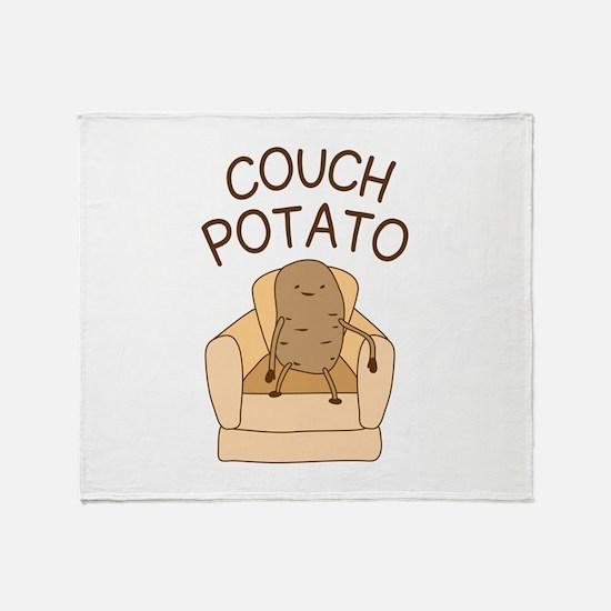 Couch Potato Throw Blanket