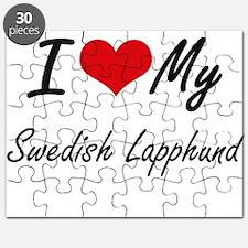 I love my Swedish Lapphund Puzzle