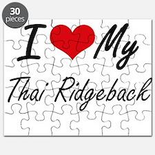 I love my Thai Ridgeback Puzzle